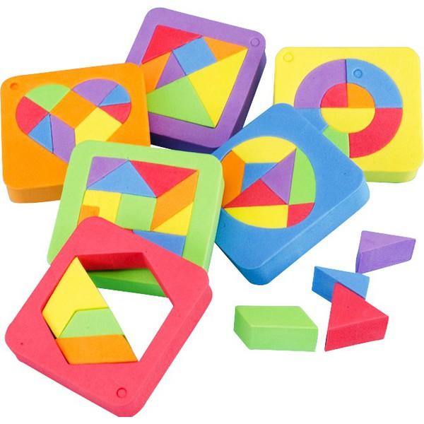 Piankowe puzzle, 36 układanek