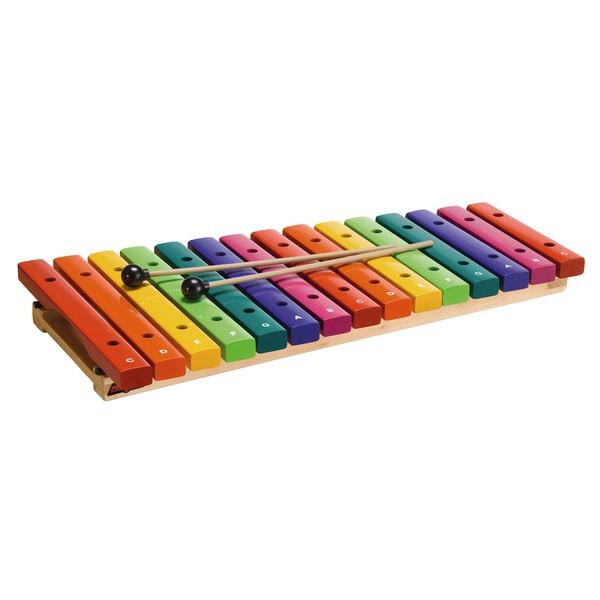Kolorowe ksylofony 15 dźwięków, Sopran, c4 - c6