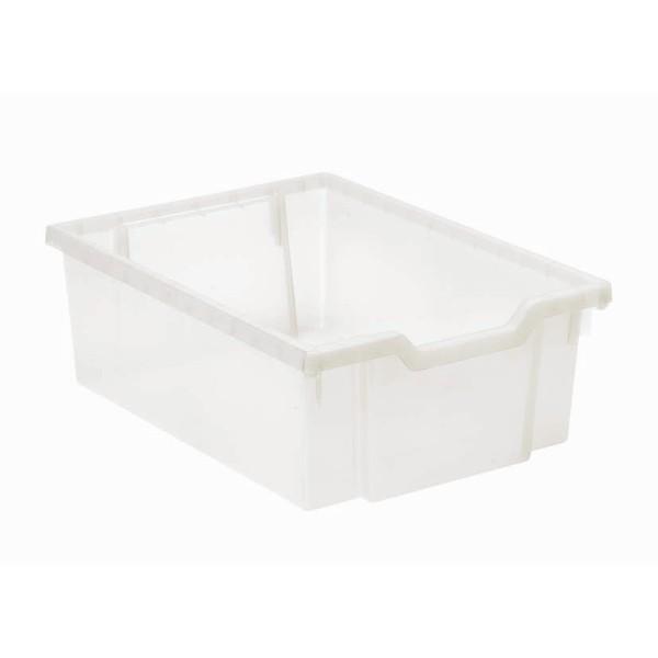 Pojemnik do przechowywania średni, wys. 15 cm, przejrzysty