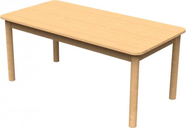 Stół prostokątny 120 x 80 cm (wys. regulowana)