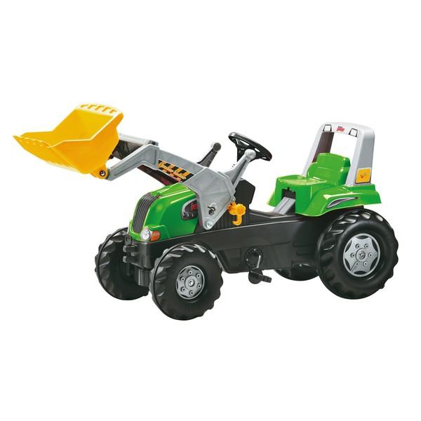 Traktor + koparka