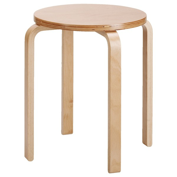Sztaplowany stołek, wys. 43, średnica 35 cm