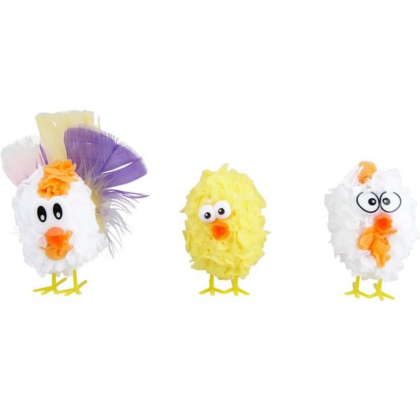 """Kreatywny zestaw """"Kurczaczki"""", 16 sztuk"""