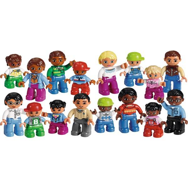 LEGO® DUPLO® Ludzie z różnych stron świata, 16 figurek