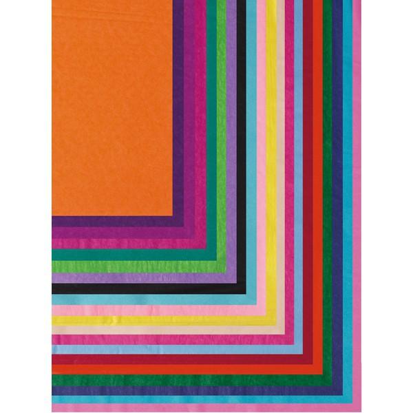 Bibuła o trwałych kolorach, 480 arkuszy