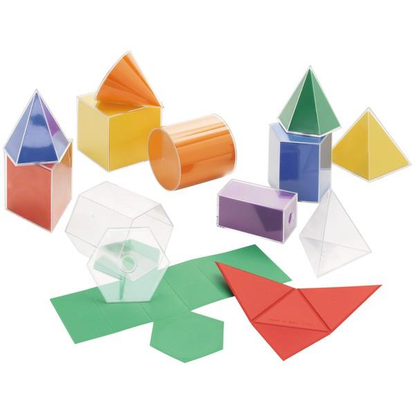 Układanka Bryły geometryczne 22 części Nauka figur geometrycznych