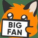 :blobfoxsignbigfan: