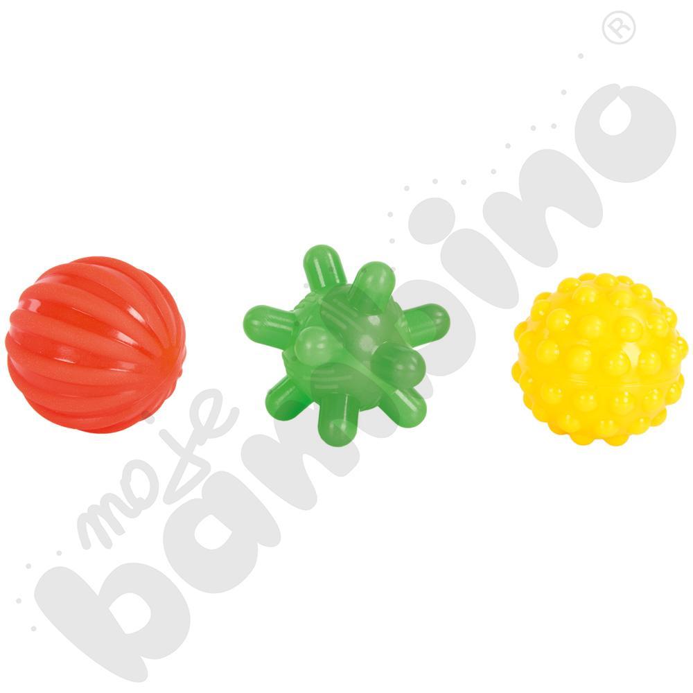 Piłeczki sensoryczne - zestaw 2