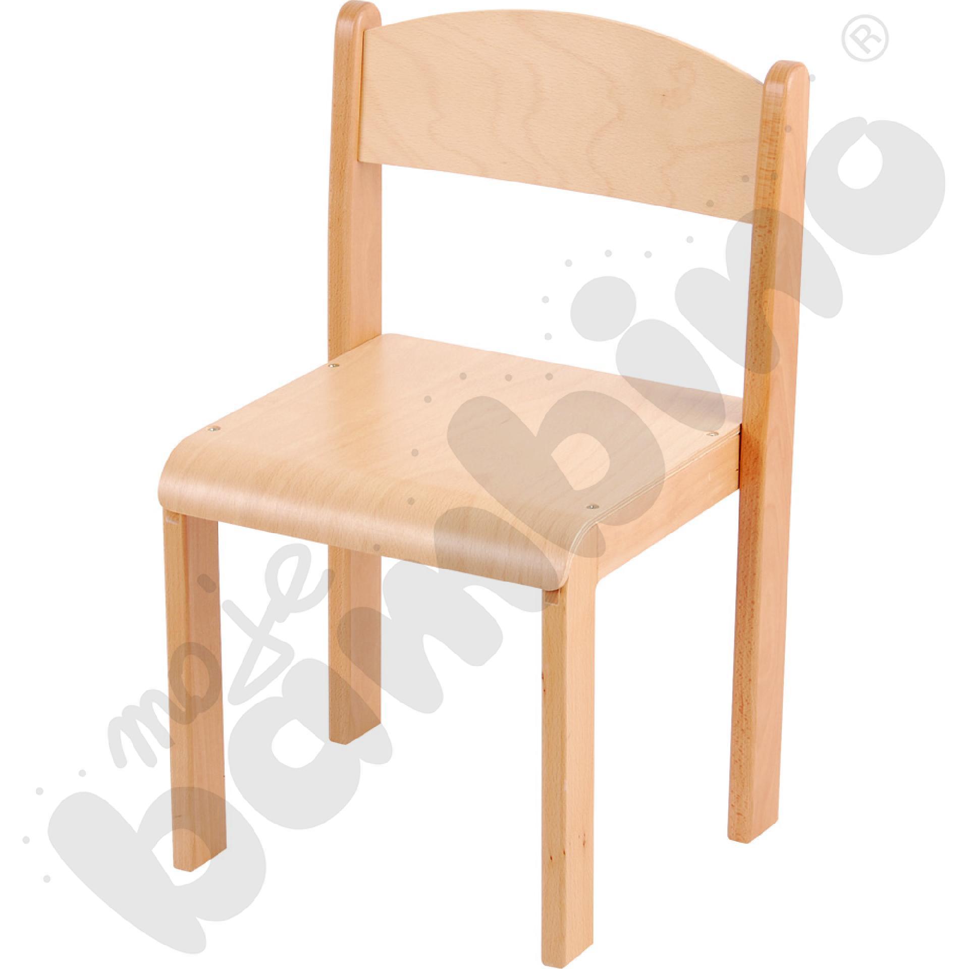 Krzesło Tender ze stopką filcową rozm. 2