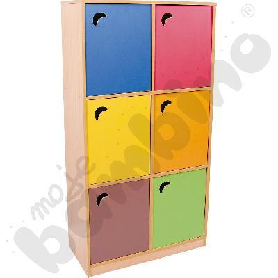 Drzwiczki do szafy szkolnej – brązowe