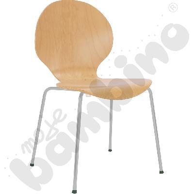 Krzesło Cafe VI aluminium