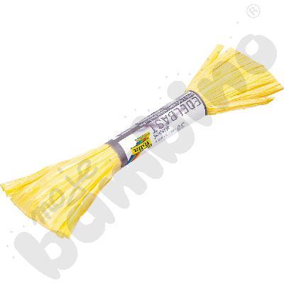 Rafia sztuczna żółta