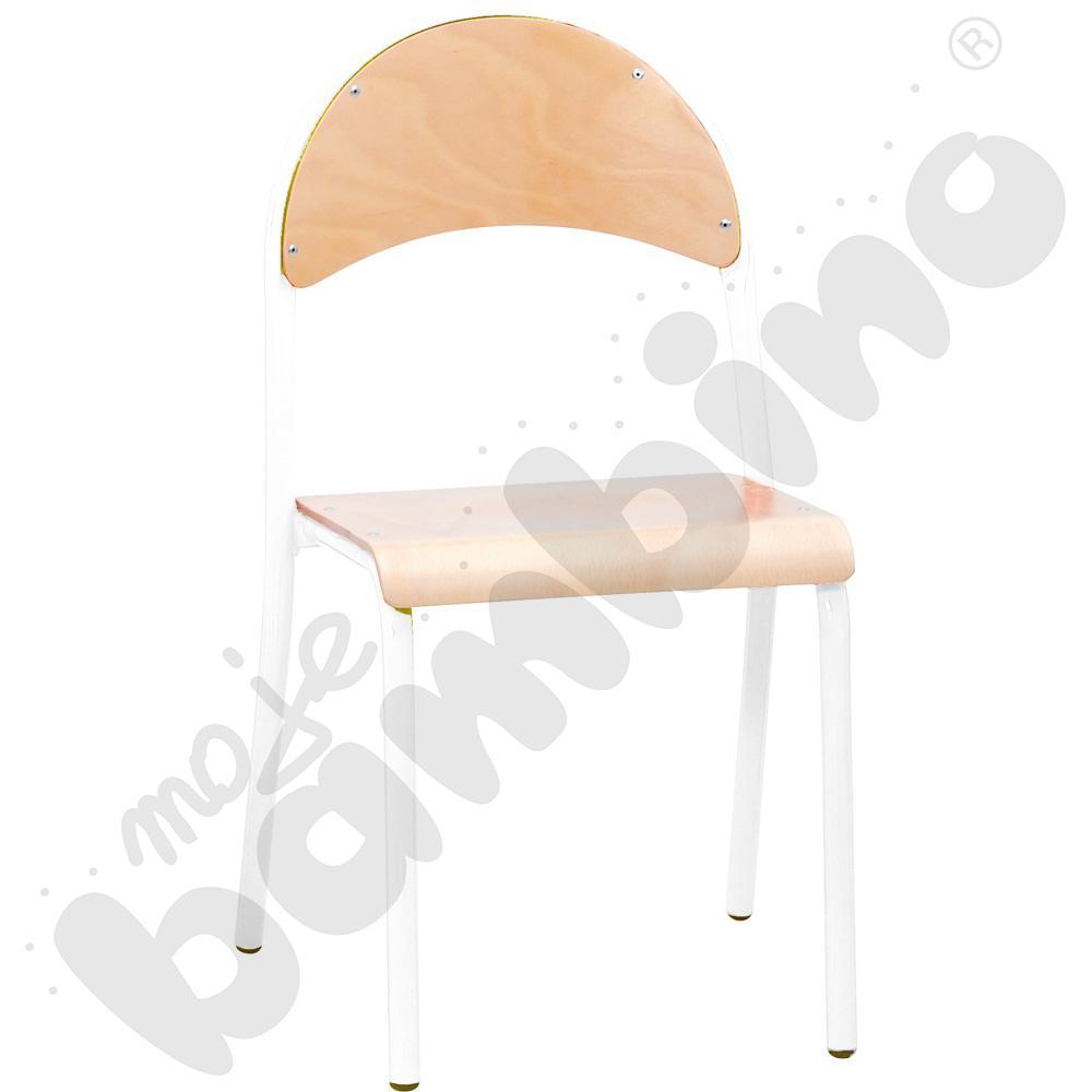 Krzesło P rozm. 4 białe