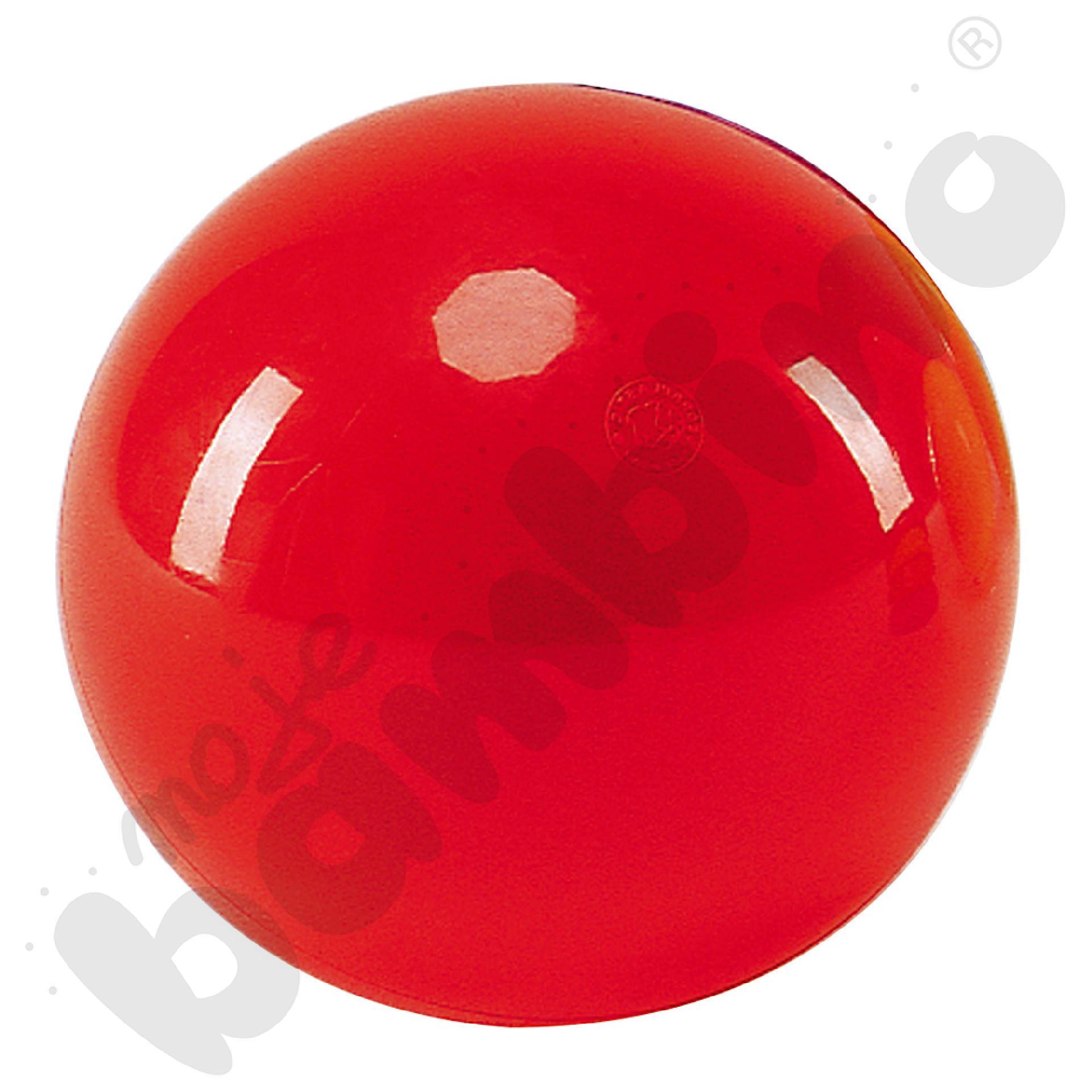 Piłka do rytmiki - czerwona