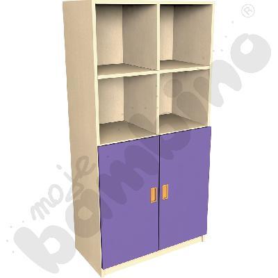 Drzwi duże do regału - fioletowe
