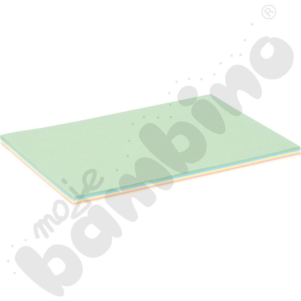 Zestaw papierów pastelowych