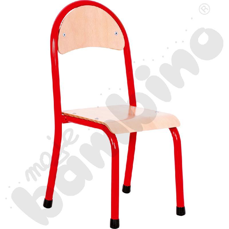 Krzesło P rozm. 1 czerwone