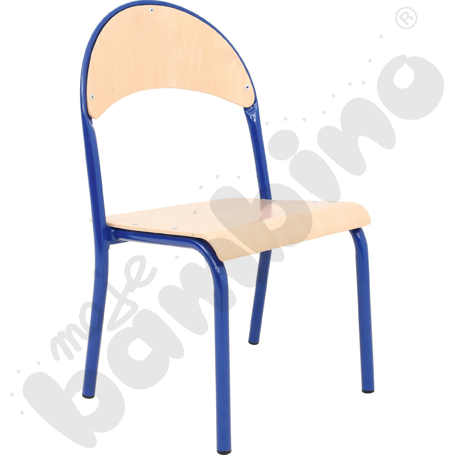 Krzesło P rozm. 1 niebieskie