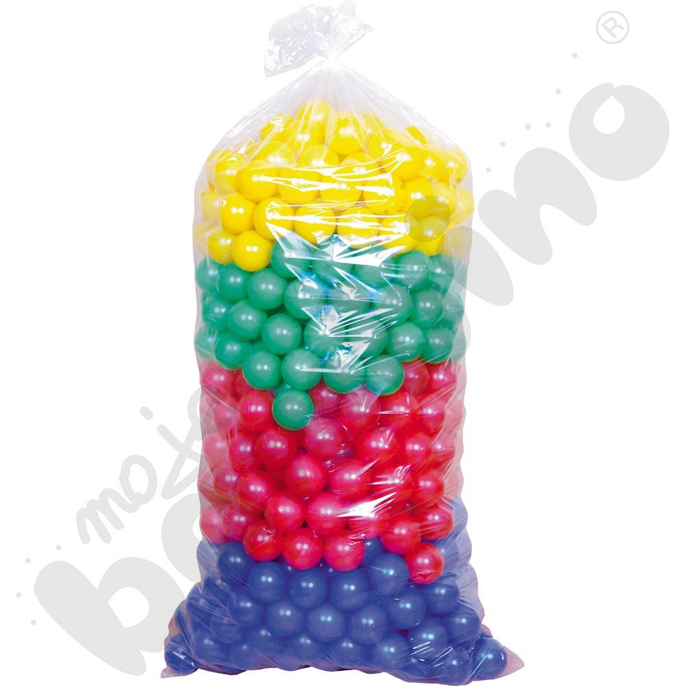 Piłeczki do basenu, kolorowe