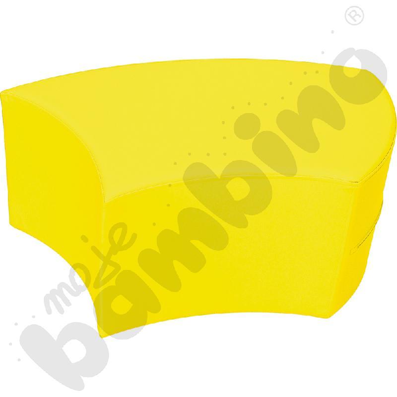 Siedzisko Majka żółte