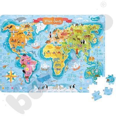 Kieszonkowe puzzle - Mapa...aaa