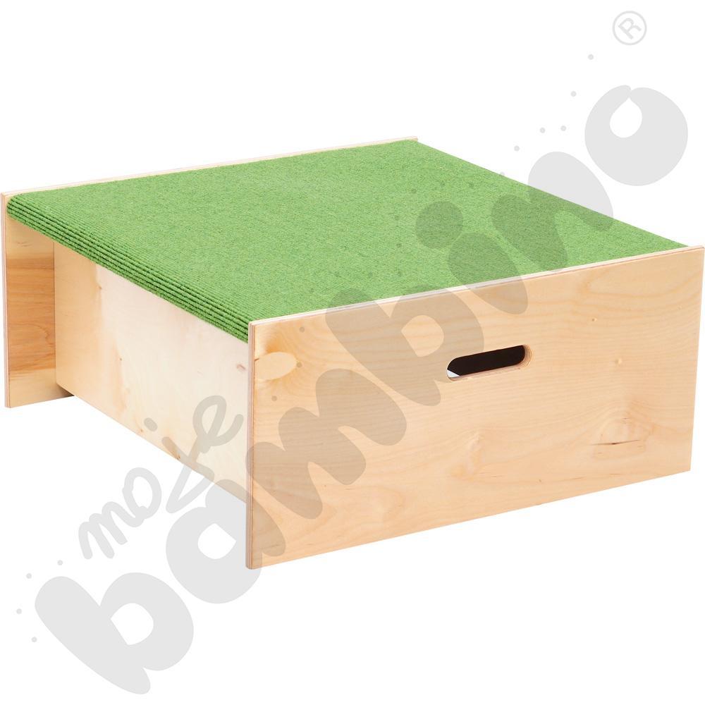 Podest kwadrat - wys. 30 cm jasnozielony