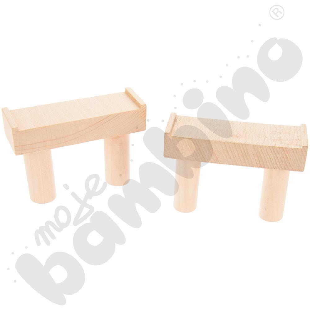 Drewniane tory - uzupełnienie 28, podwójne tory