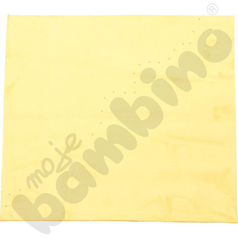 Magnetyczna tapeta kwadrat - żółta
