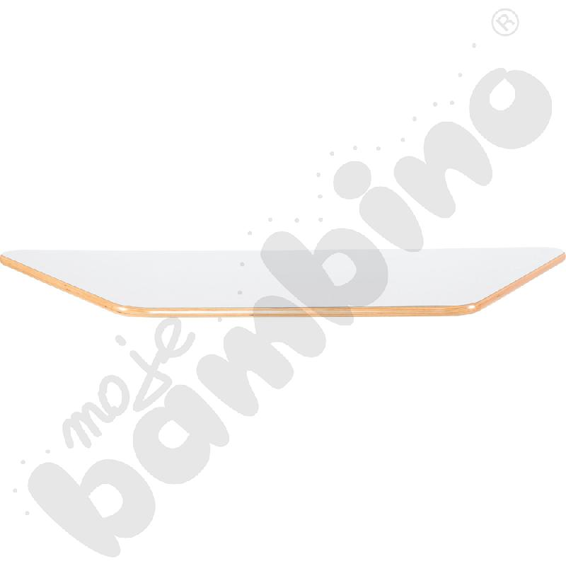 Blat Flexi trapezowy - biały