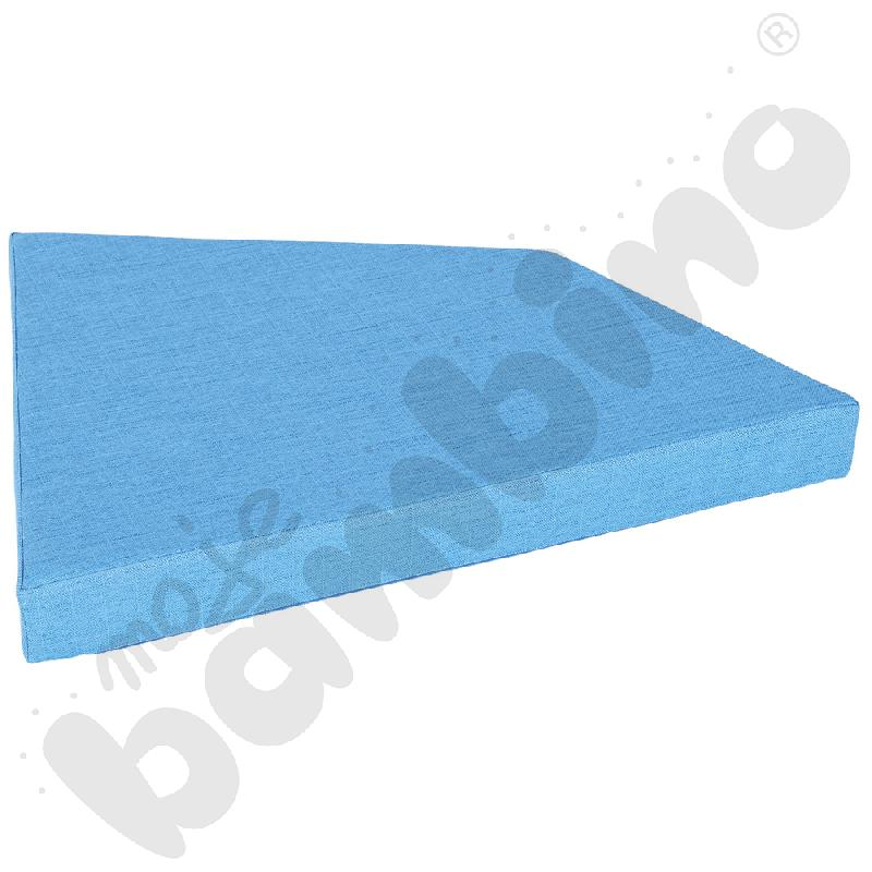 Materac Quadro 2 jasnoniebieski, wys. 10 cm