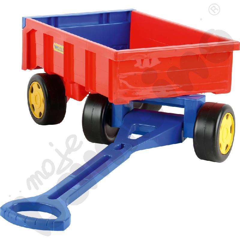 Wózek-przyczepka dla chłopca