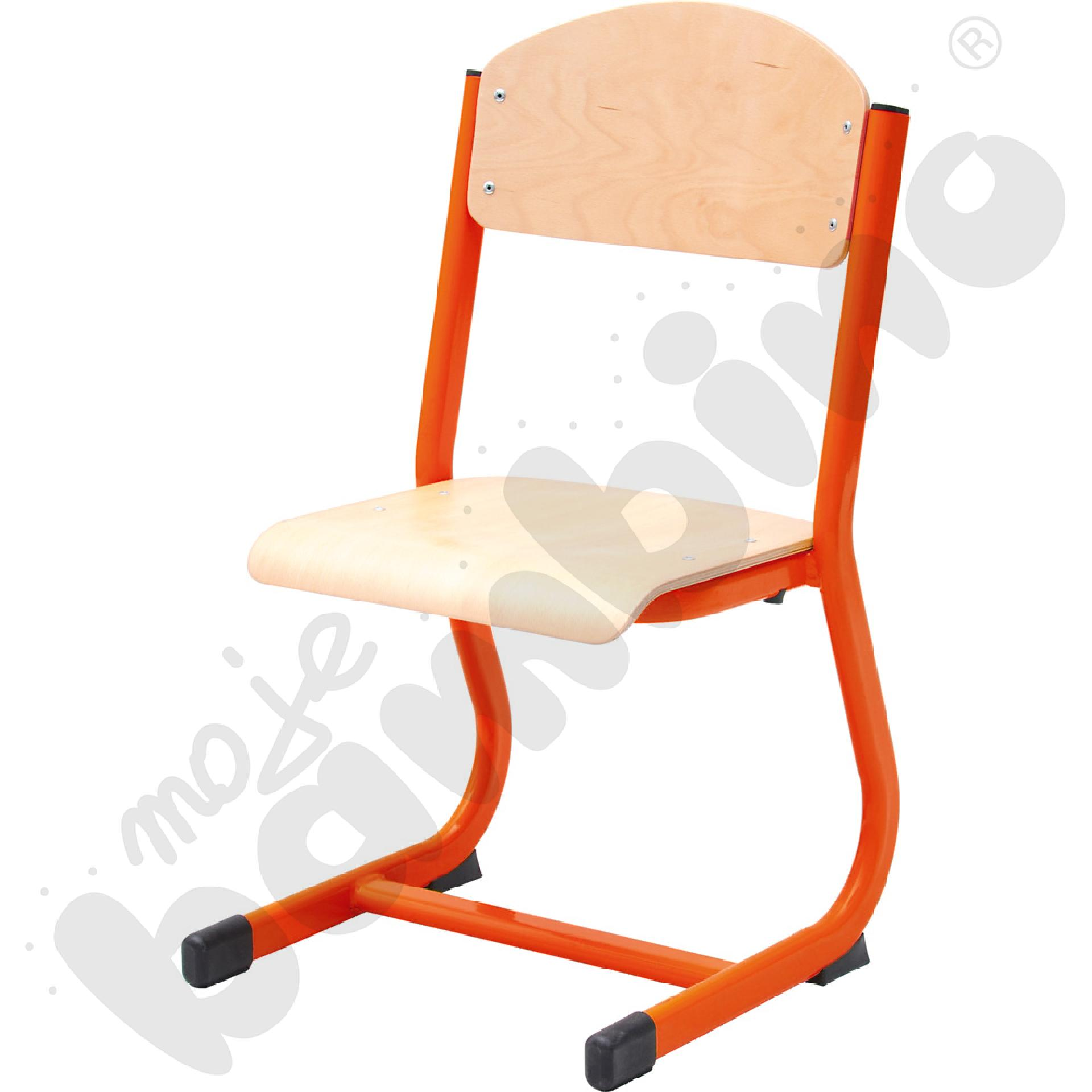 Krzesło IN-C rozm. 2 - czerwone