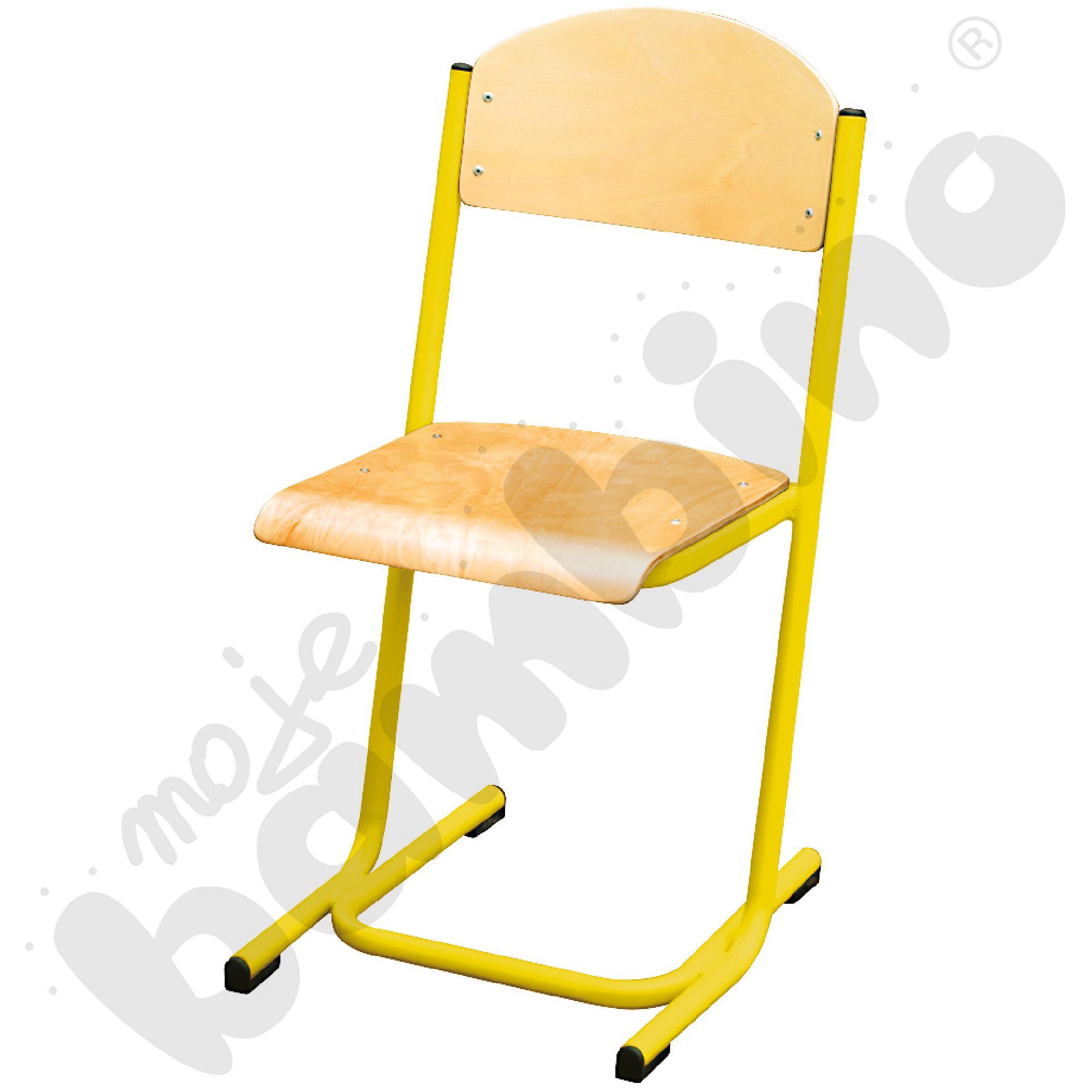 Krzesło MAX rozm. 4 żółte