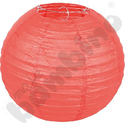 Papierowy lampion - czerwony