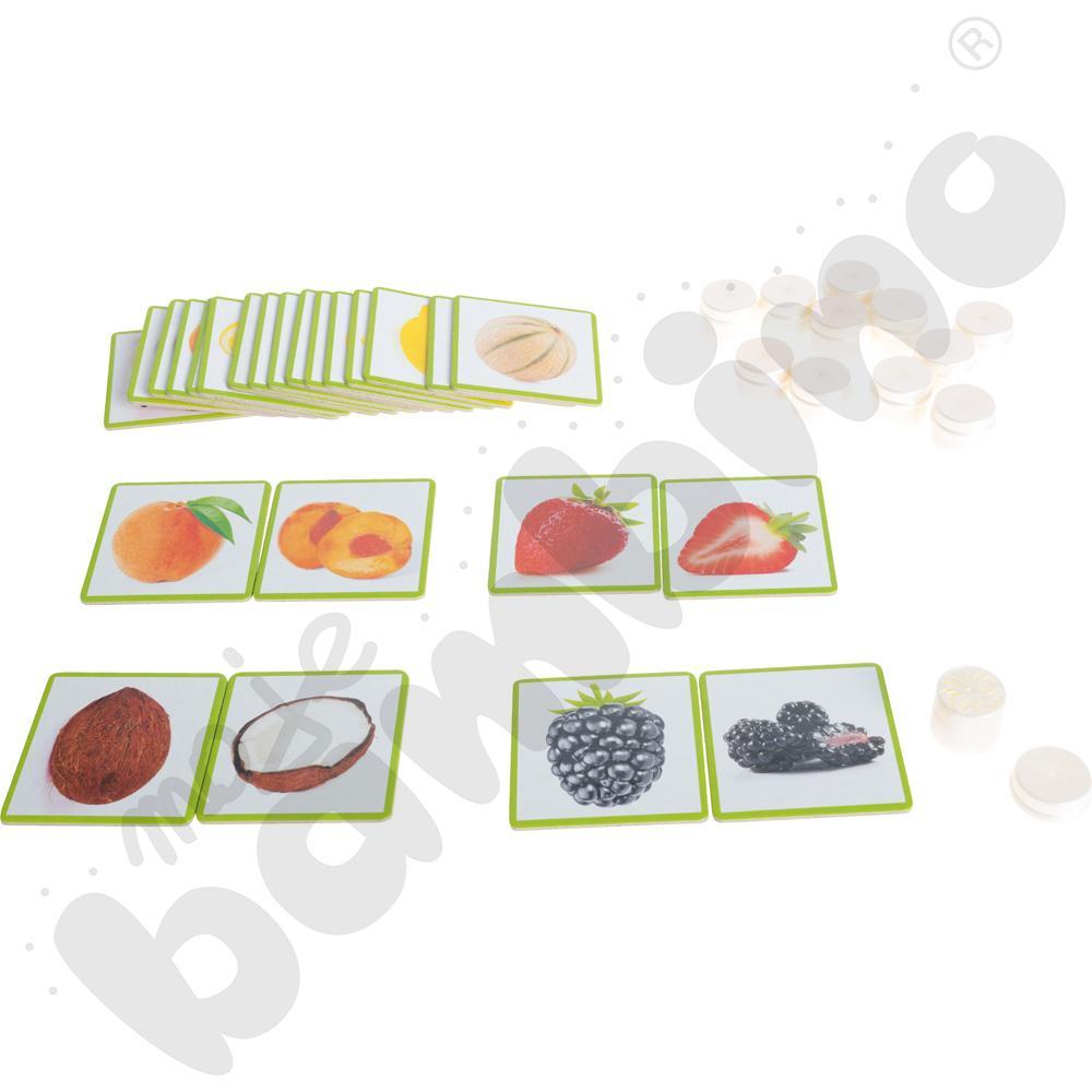 Węch - owoce i ich zapachy