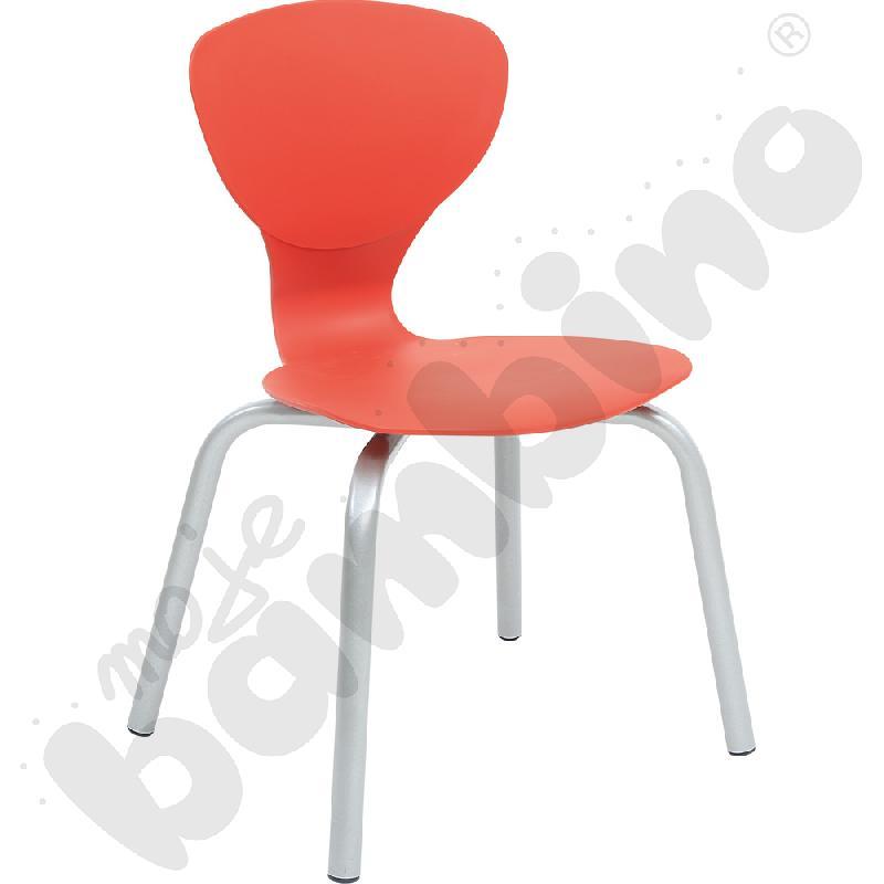Krzesło Flexi czerwone rozm. 6