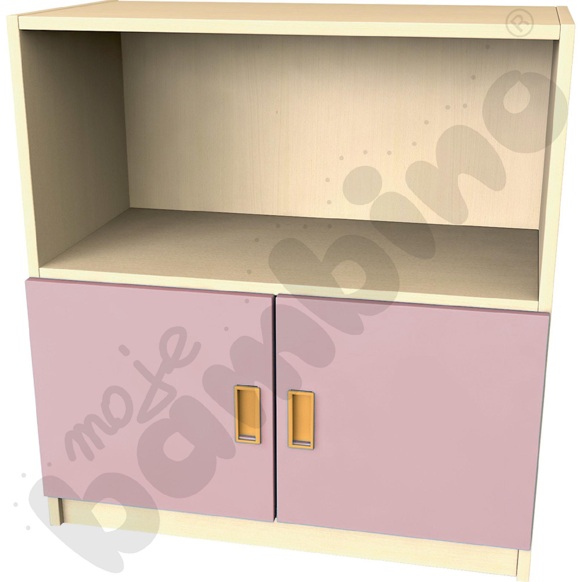 Drzwi małe do regału - cappuccino