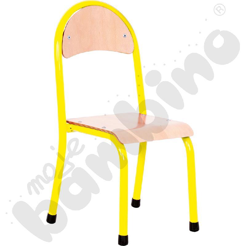 Krzesło P rozm. 1 żółte