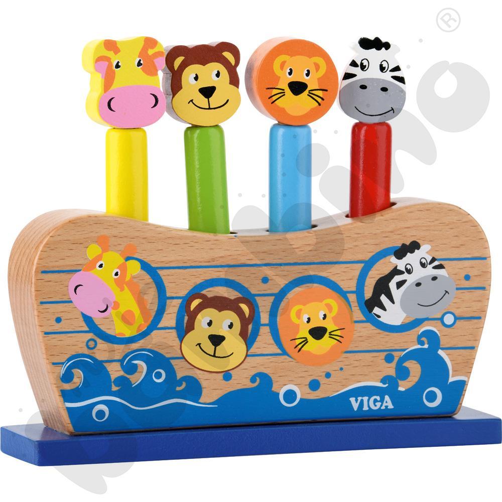Arka Noego - skaczące zwierzątka
