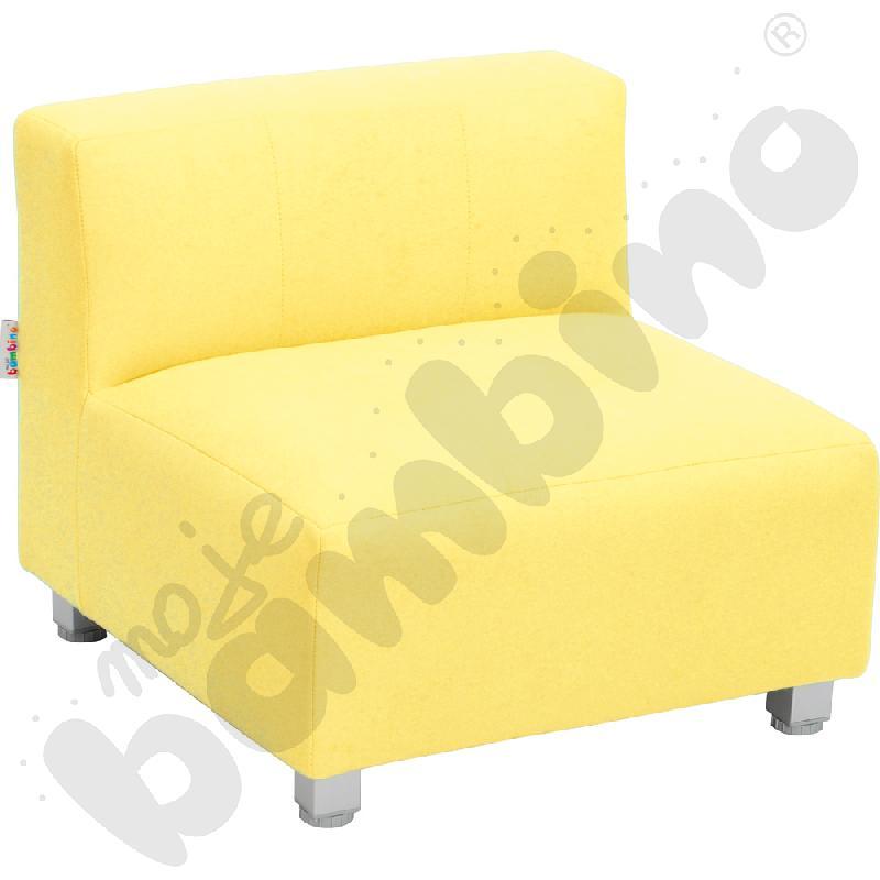 Kanapa mała - żółta wys. 25 cm
