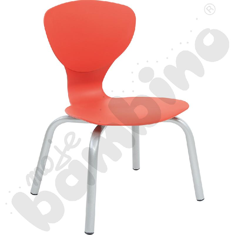 Krzesło Flexi czerwone rozm. 4