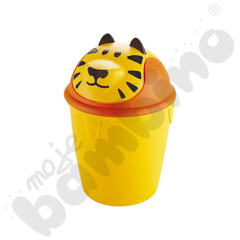 Kosz na śmieci - Tygrysek
