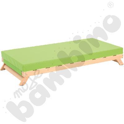 Łóżeczko drewniane przedszkolne