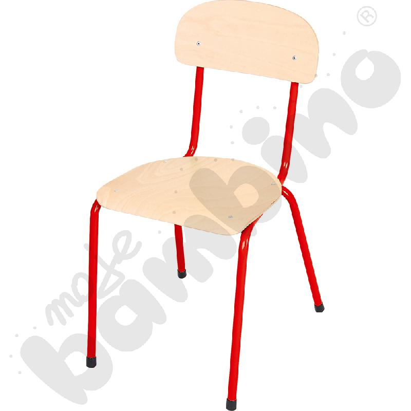 Krzesło Bambino rozm. 5 czerwone