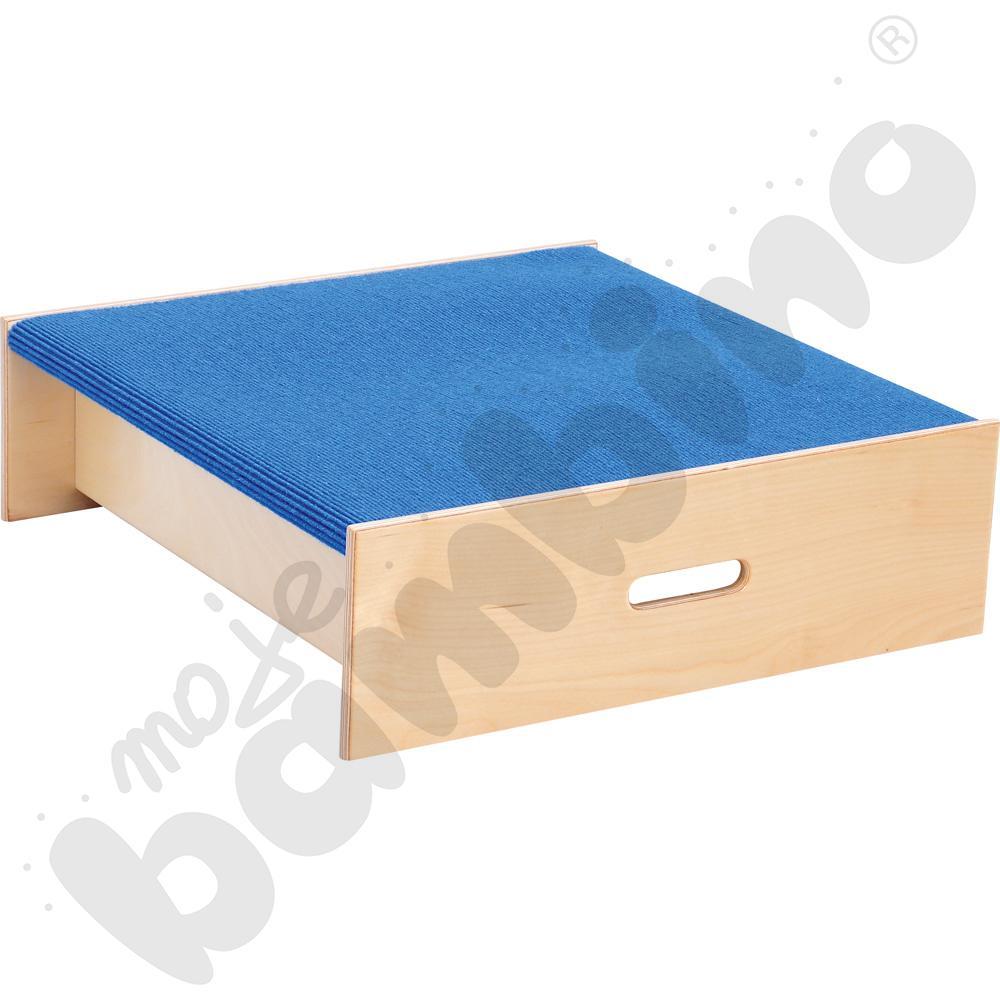 Podest kwadrat - wys. 20 cm niebieski