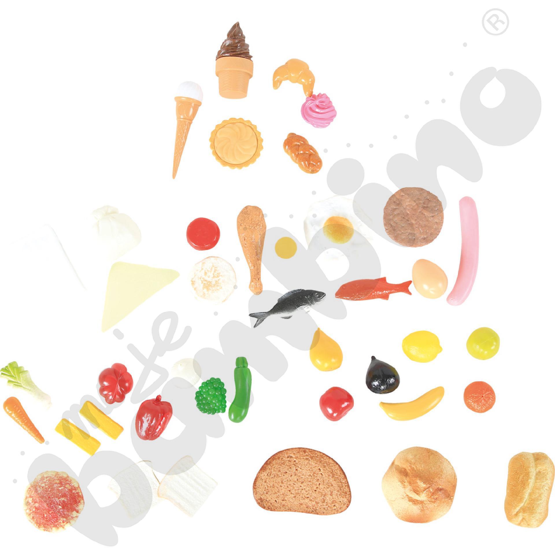 Piramida żywności 3D