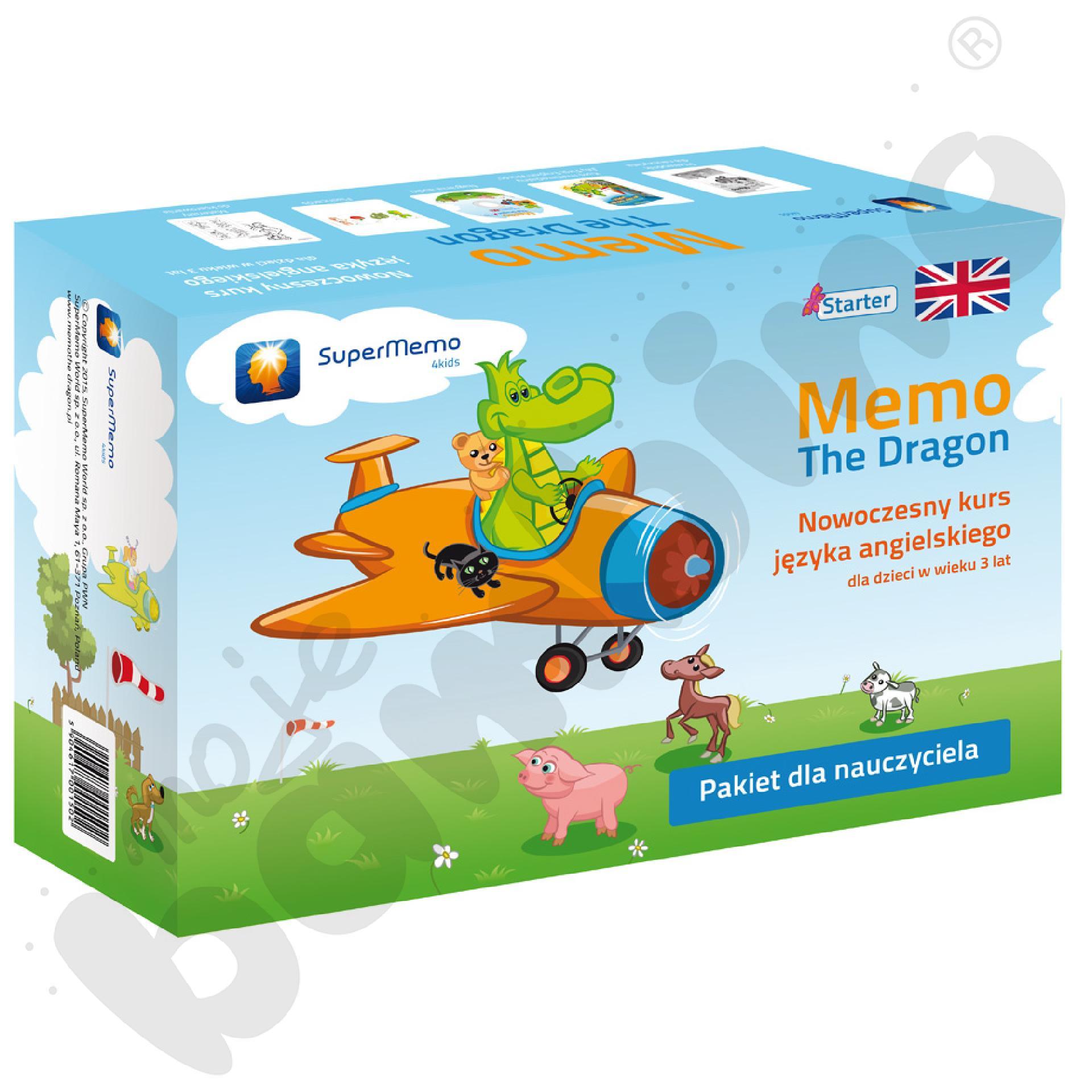 Kurs języka angielskiego Memo The Dragon Starter - pakiet dla nauczyciela
