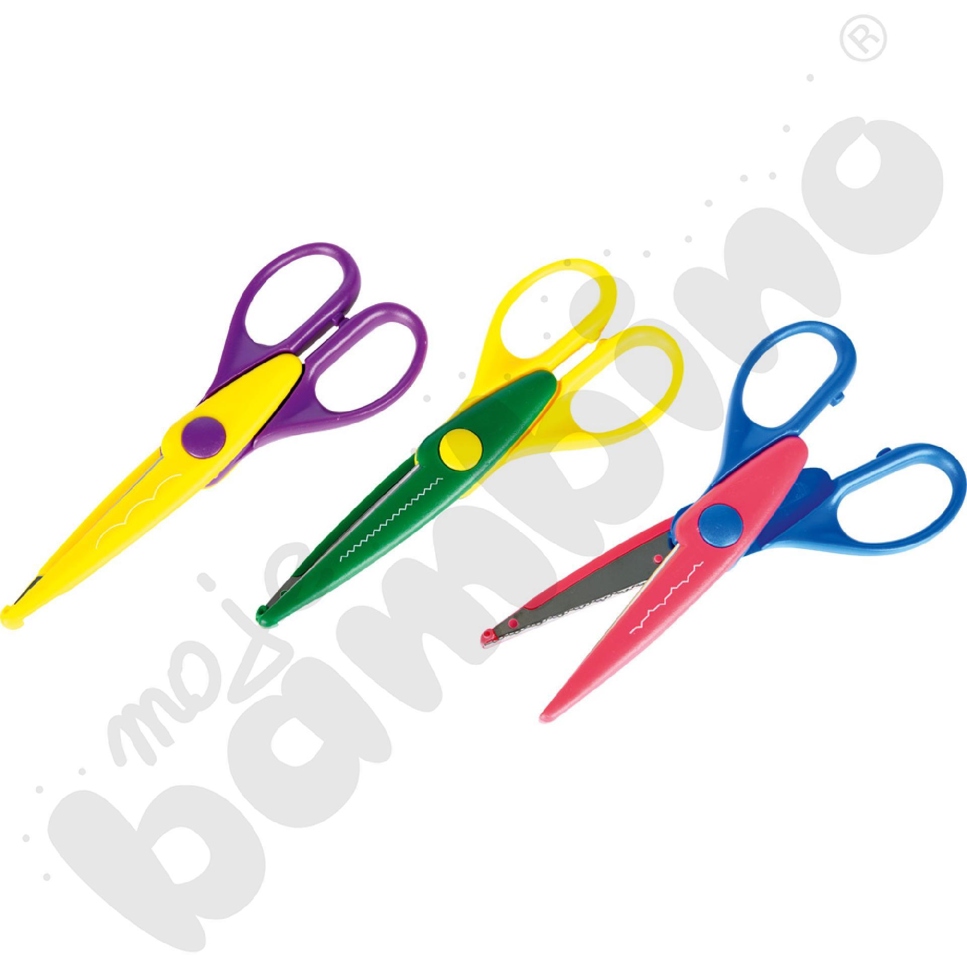 Nożyczki 3 wzory