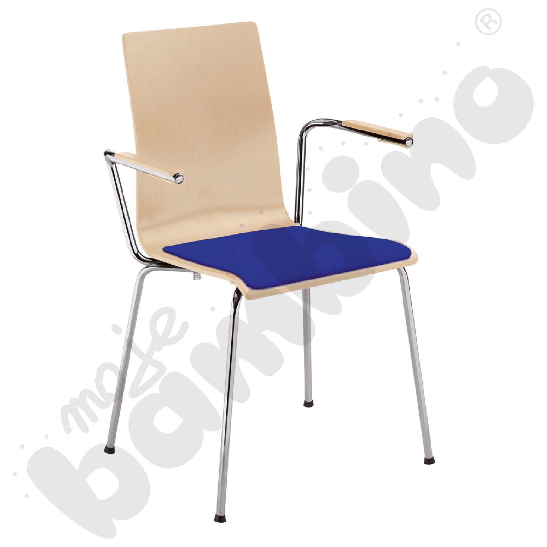 Krzesło Cafe VII arm seat...