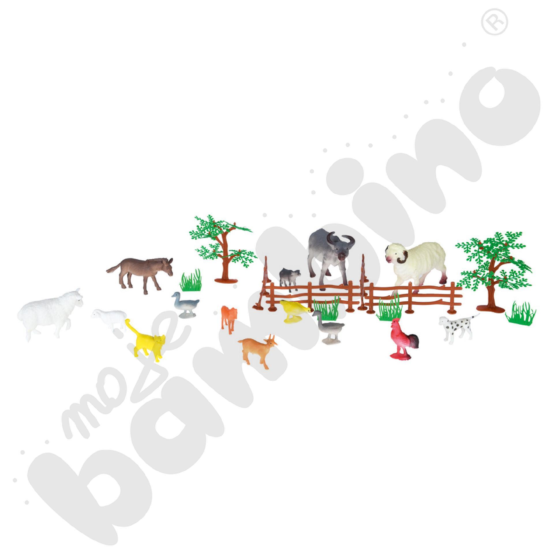 Zwierzęta hodowlane, mix...